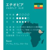 エチオピア ウォッシュド 浅煎り シナモンロースト 250g