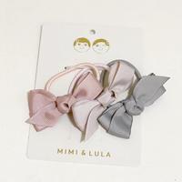 【送料無料】MIMI&LULA ヘアゴム リボン 3本セット