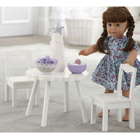 potterybarnkids  doll flower table