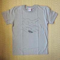 山と山小屋Tシャツ