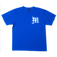 【BLUE】Old English Tee
