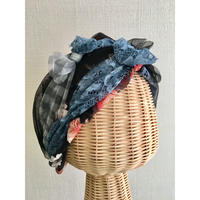 Scarf mix/Navy