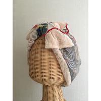 Botanical motif embroidery/Beige