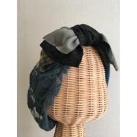 wool ribbon/Blue