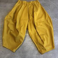 nunuform / オックスポインテッドパンツ ns-621-005A Mustard F(WOMENS)