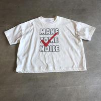 nunuforme /ノイズプリントT nf13-965-510 White 95.105.115.125.135.145