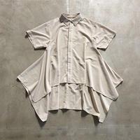 nunuforme / サイドドレープシャツ nf15-565-131A Beige 1(155).2(160/F)