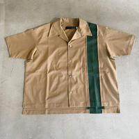 nunuforme / バーティカル切替シャツ nf15-567-132 Brown 105.115.125.135.145