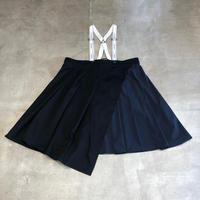nunuforme / タックサロペットスカート nf14-712-103A Black F(WOMENS)