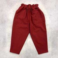 Bague  / ベクターパンツ  BG124011  MATTE RED   ( 80-145cm )