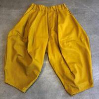 nunuform / オックスポインテッドパンツ ns-621-005 Mustard 95.105.115.125.135.145