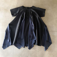 nunuforme / フリルエッジワンピース nf15-442-009 Black 105.115.125.135.145