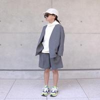 MOUN TEN. / polyester canapa Jacket MT201002-a charcoal 95.110.125.140