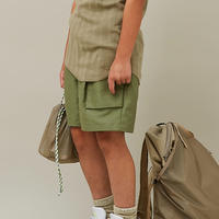 MOUN TEN. / C/L moleskin fatigue 21S-MP51-0921a Khaki 110.125.140