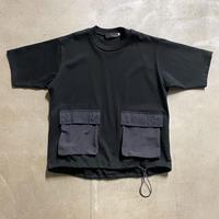 nunuforme / マチ付きポケット T nf15-810-505A  Black 1(155cm),2(160cm/F)