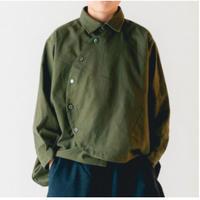 nunuforme / サークルシャツnf14-545-012A Khaki  F(WOMENS)