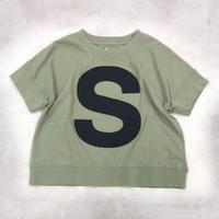 6°vocale/ キャピタルレターTシャツ GF-CLAT-21S1  MILITAY 90.100.110.120