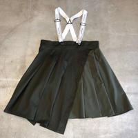 nunuforme / タックサロペットスカート nf14-712-103 Khaki 95.105.115.125.135.145