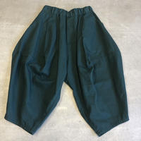 nunuform / オックスポインテッドパンツ ns-621-005A Green F(WOMENS)
