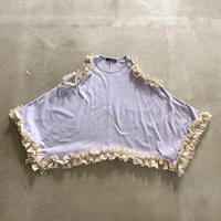 nunuforme / フリルドレープ T  nf15-977-500 Purple 115.125.135.145