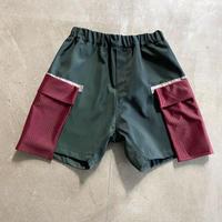 nunuform / フロートポケットショートパンツ nf15-638-121A Green 1(155)