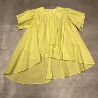nunuforme / イレギュラーヘムワンピース Yellow  nf13-427-084A F(WOMENS)