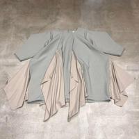 nunuforme / フリルエッジワンピースnf14-429-009A Gray F(WOMENS)