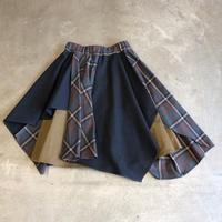 nunuforme / ミックススカート nf14-708-113  Gray  115.125.135.145