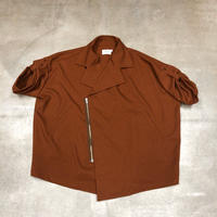 nunuforme / ワイドコート nf14-214-095A Brown F(WOMENS)