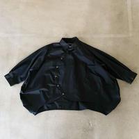 nunuforme / サークルシャツnf15-545-120A Black 1(155).2(160/F)