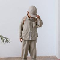 MOUN TEN. / sheersucker jacket MT201012-a beige 95.110.125.140