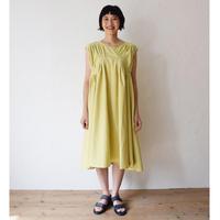 nunuforme / タックステッチワンピースnf13-423-085A Yellow  F(WOMENS)