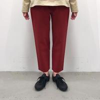 Bague  /ベクターパンツ BG124011-A   MATTE RED  F(WOMENS) / M(MENS)