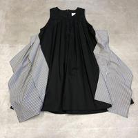 nunuforme / スクエアパッチワンピース nf13-411-006A Black F(WOMENS)