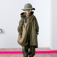 MOUN TEN. / ventile coat MT201001-a khaki 95.110.125.140