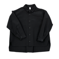 MOUN TEN. / grosgrain shirts MT202004-c black 1(adult)