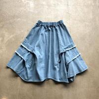 nunuforme /カットタックスカート nf14-711-110 BLEACH 155