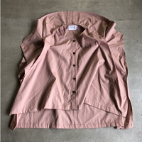 nunuforme / ブロードドレープブラウス nf13-548-001A Pink F(WOMENS)