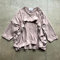 nunuforme / タックフリルT  nf14-967-500 Pink 95