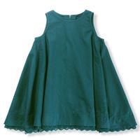 toi toi toi   / ノーランジャンパードレス 105507 blue green 120.130.140