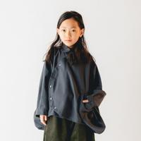 nunuforme / サークルシャツnf14-545-012A Charcoal  F(WOMENS)