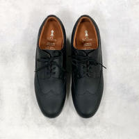 NINOS/ Long Wing Tip  NTC04-100-09 BLACK 23.0,23.5,24.0,24.5,25.0cm