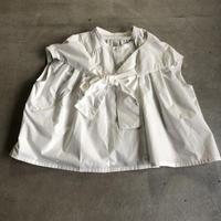 nunuforme /ショルダーボウブラウスnf13-550-002A White F(WOMENS)