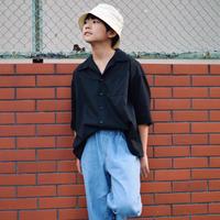 SWOON / オープンネックシャツsw13-504-025A Black F(WOMENS)