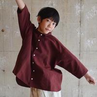 SWOON / ワイドシャツsw12-500-081パープルL.XL
