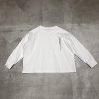 nunuforme /アドレス刺繍Tnf14-808-600A White F(WOMENS)