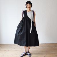 nunuforme / ワンサイドテープサロペットnf13-631-006A Black F(WOMENS)