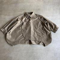 nunuforme / サークルシャツnf13-545-085  Beige  155