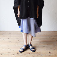 nunuforme / ミックススカートnf13-708-090A Blue F(WOMENS)
