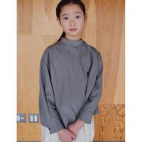 SWOON / プレーンシャツsw12-502-022ブラックS.M.L.XL